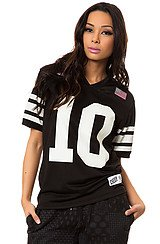 The X-League Jersey in Black