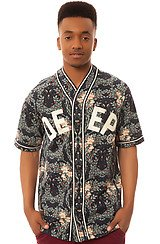 The Stealing Home Baseball Shirt in Navy