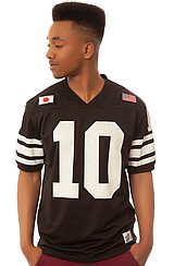 The X League Jersey in Black