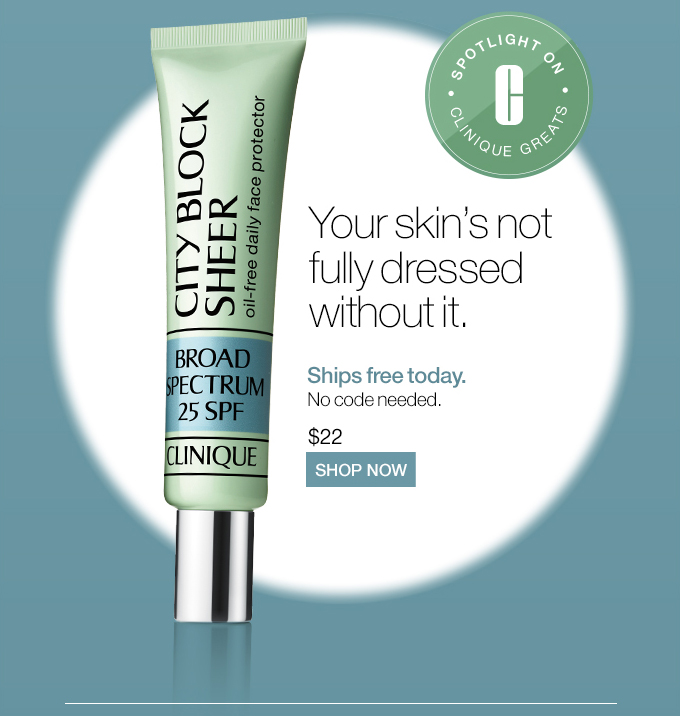 City Block Sheer Oil-Free Daily Face Protector Broad Spectrum SPF 25