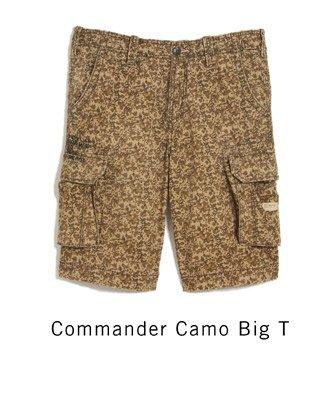 Commander Camo Big T