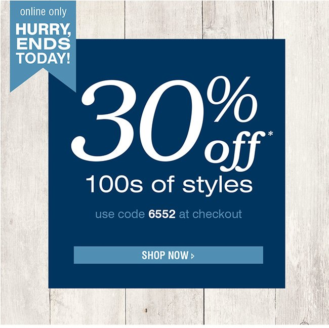 SAVE ON VARIOUS STYLES
