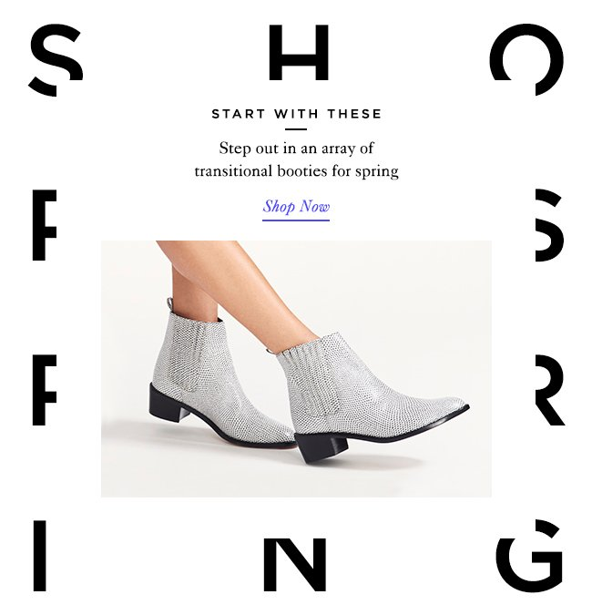 Shop Spring Booties at The Official Loeffler Randall Online Store www.LoefflerRandall.com