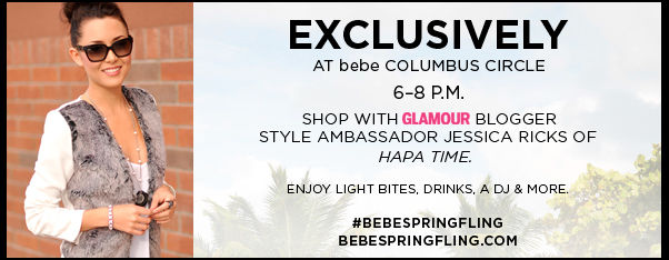 Exclusive at bebe stores