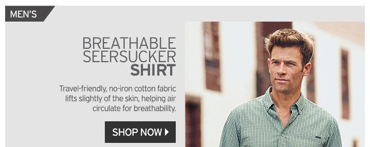 Shop Men's Seersucker Shirt