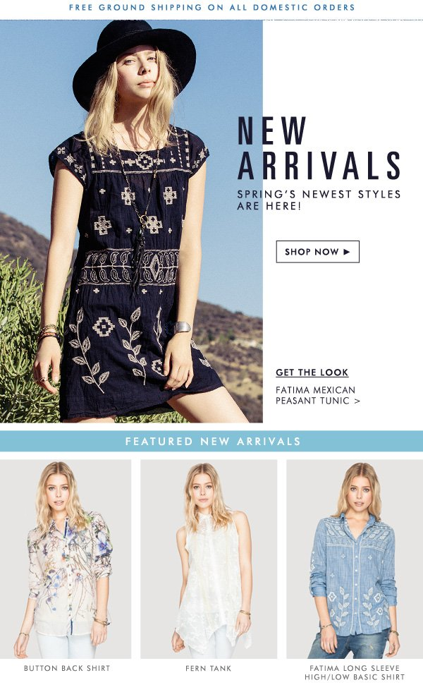 New Arrivals: Spring's Newest Styles Are Here!