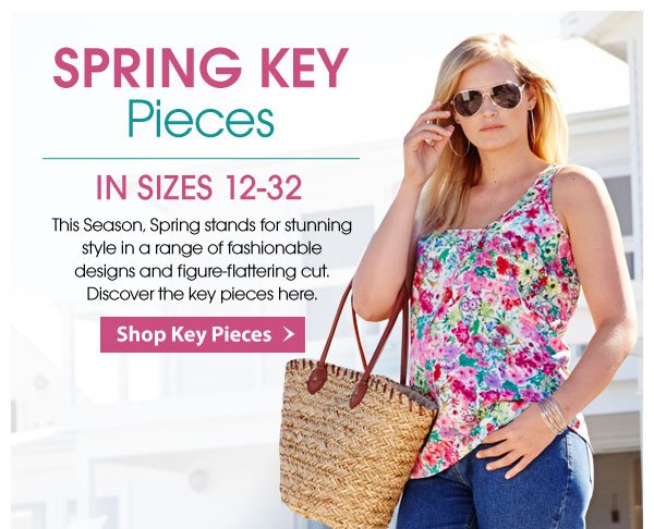 Discover Spring's Key Pieces