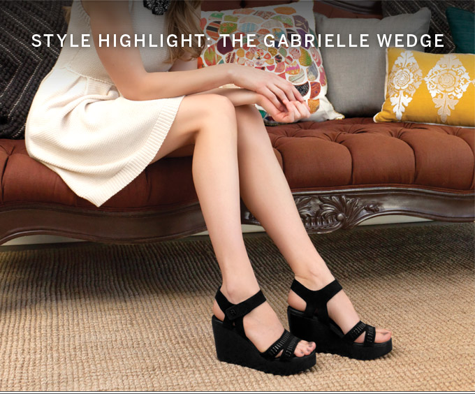 Style Highlight: The Gabrielle Wedge