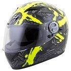 Scorpion EXO-500 'Crude' Black/Neon Yellow Full Face Helmet