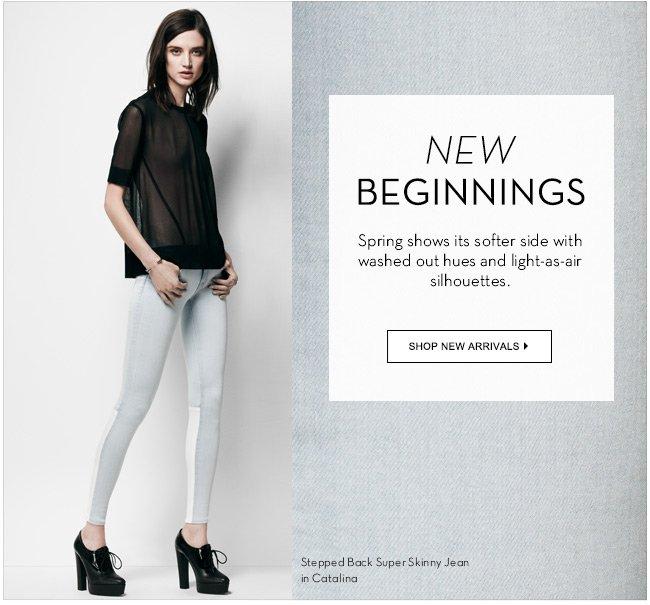 New Beginnings   Shop New Arrivals