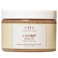 FarmHouse Fresh Coconut Beach Shea Sugar Body Scrub