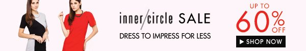 Inner Circle up to 60% off