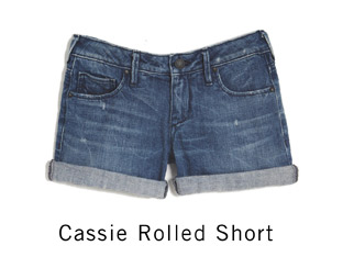 Cassie Rolled Short