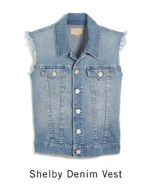 Shelby Denim Vest