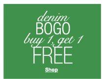 Denim BOGO buy 1, get 1 FREE