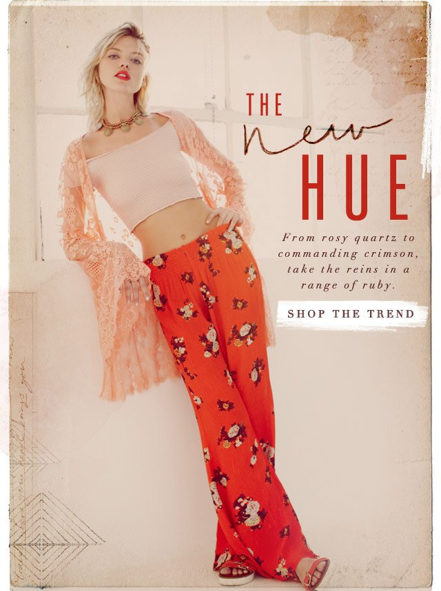 The New Hue - Shop the Trend