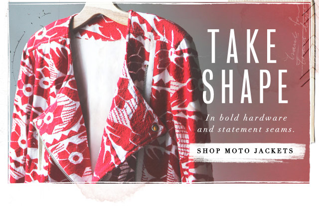 Take Shape - Shop Moto Jackets
