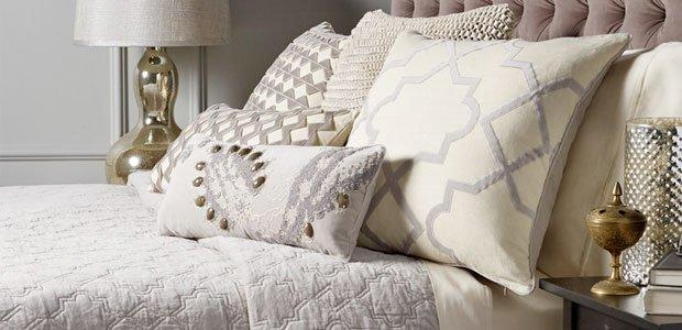 Go Grey & White: Chic Bed & Bath Essentials