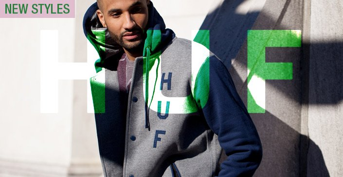 HUF: New Clothing