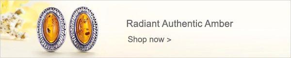 Radiant Authentic Amber