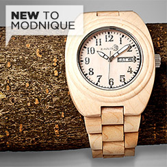 Go Green with Earth's Wooden Watches