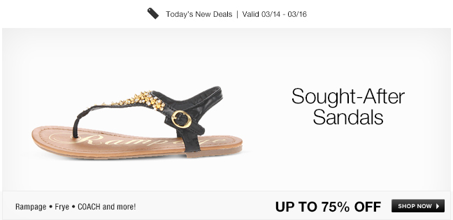 Sought-After Sandals
