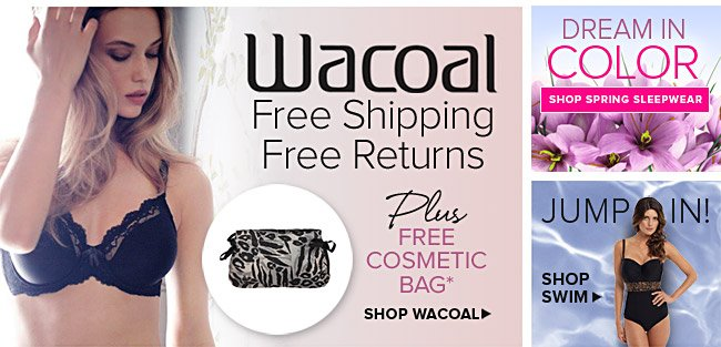 Wacoal Free Shipping & Returns - See Details