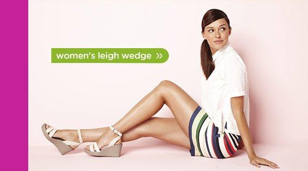 women's leigh wedge