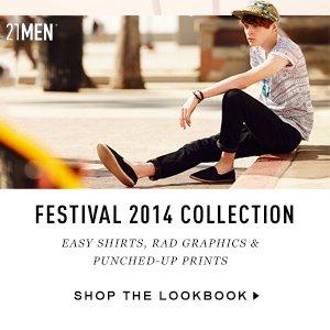 21MEN Festival 2014 Collection.