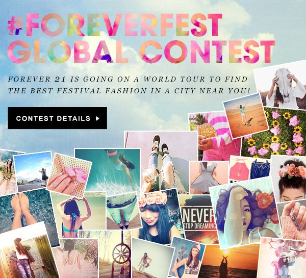 FOREVERFEST GLOBAL CONTEST