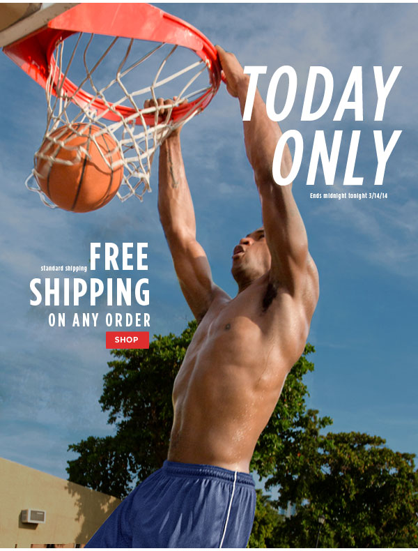 FREE Standard Shipping All Orders