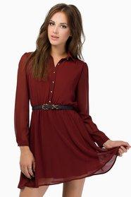 Upton Shirt Dress $40
