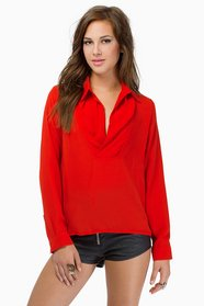 Open Vixen Blouse $33