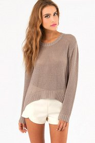 Breathe Easy Knit Sweater $33