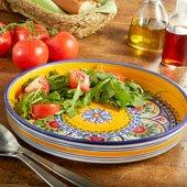 New! Painted Salad Platter