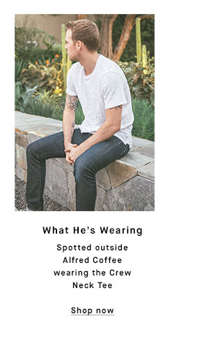 What He's Wearing - Shop now