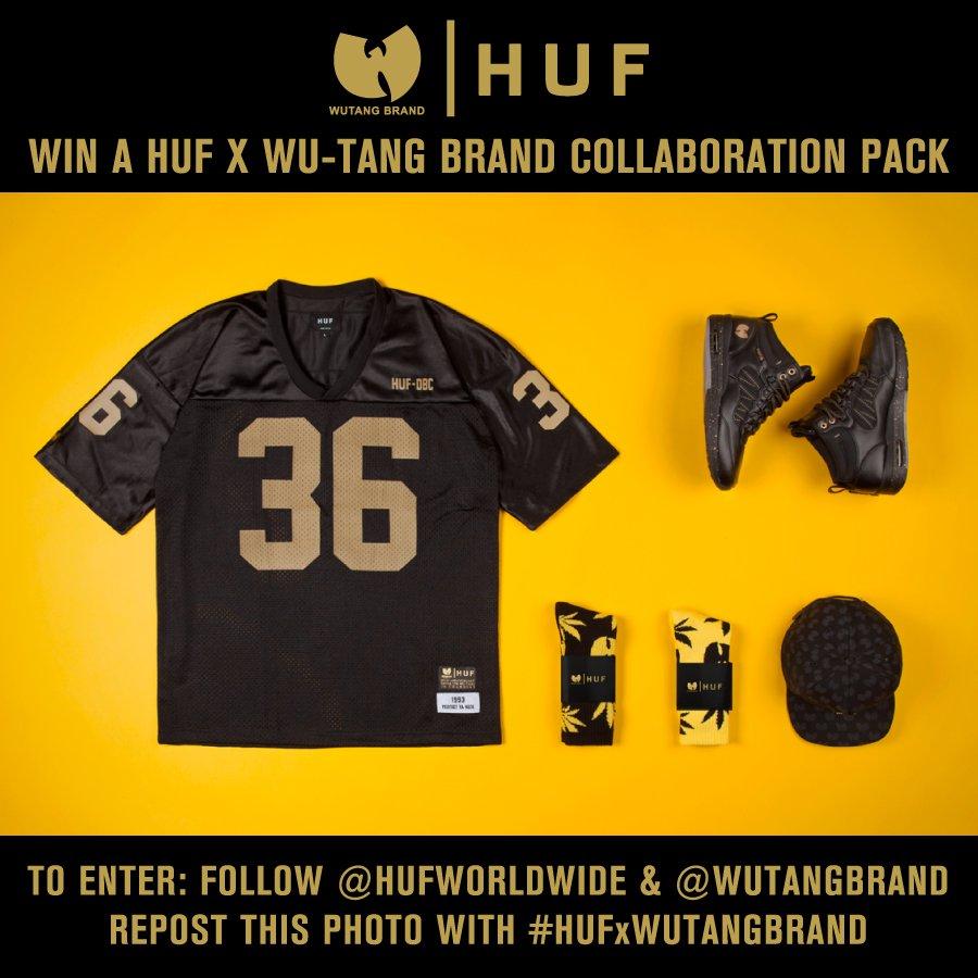 HUF X WU-TANG BRAND RE-GRAM CONTEST