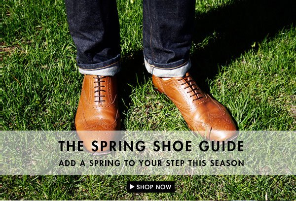 Add a spring to your step with the spring shoe guide