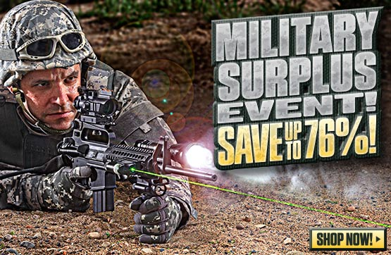 Sportsman's Guide's Military Surplus Event! Save Up To 76%!
