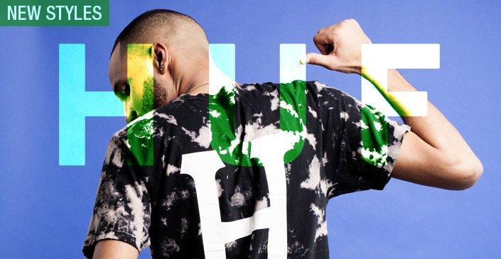 HUF: New Tees