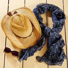 Trending Looks: Cowboy Hats & Scarves