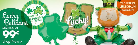 Lucky Balloons Starting at 99¢