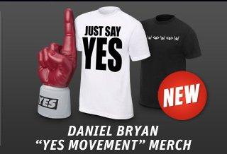 New Daniel Bryan Yes Movement Merchandise!