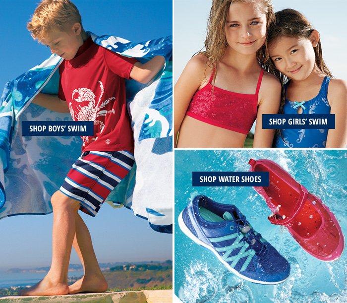 Boys Swim   Girls Swim   Water Shoes