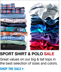 sport shirt and polo sale - shop the sale