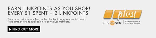 Get 2 linkpoints with ever $1 Spent!