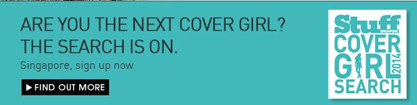 Be the next cover girl! Sign up now