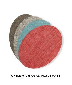 CHILEWICH OVAL PLACEMATS