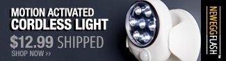 Newegg Flash - Motion Activated Cordless Light.