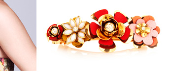 Flower Statement Barrette